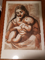 Mere Et Enfant  Limited Edition Print by  Picasso Estate Signed Editions - 1