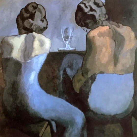 Two Women At the Bar  Limited Edition Print by  Picasso Estate Signed Editions