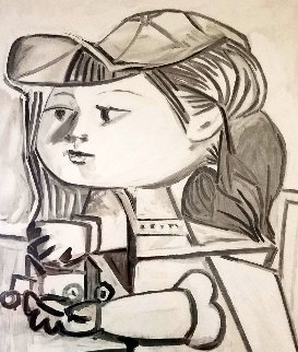 Buste De Petite Fille  Limited Edition Print by  Picasso Estate Signed Editions