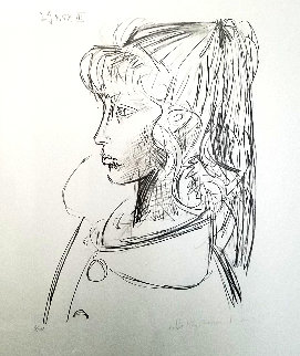 Sylvette De Profil   Limited Edition Print by  Picasso Estate Signed Editions