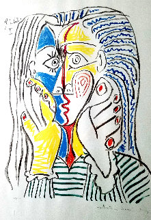 Visage I  Limited Edition Print by  Picasso Estate Signed Editions