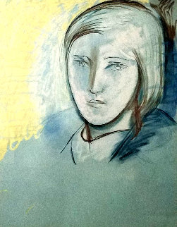 Portrait of Marie Therese Walter 1979 Limited Edition Print by  Picasso Estate Signed Editions