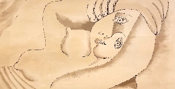 Femme Couchee  Limited Edition Print by  Picasso Estate Signed Editions