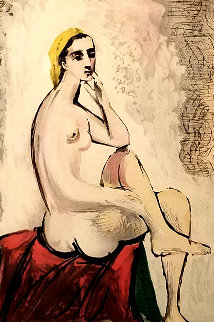 Nu Assis Limited Edition Print by  Picasso Estate Signed Editions