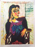Untitled (Portrait of a Woman)  Limited Edition Print by  Picasso Estate Signed Editions - 1