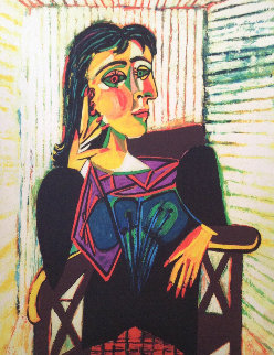 Untitled (Portrait of a Woman)  Limited Edition Print by  Picasso Estate Signed Editions