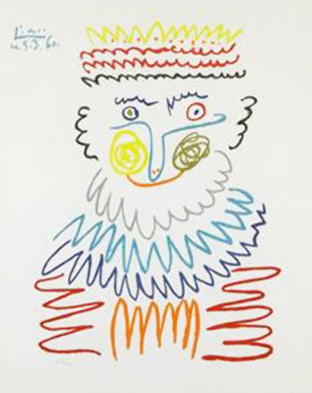 Joyous King  Limited Edition Print by  Picasso Estate Signed Editions
