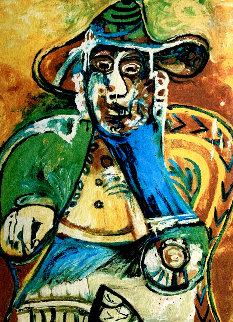 Man in Chair Limited Edition Print by  Picasso Estate Signed Editions