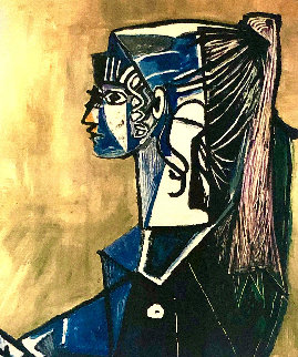 Untitled Portrait of a Woman Limited Edition Print -  Picasso Estate Signed Editions