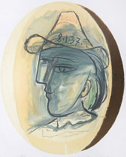 Tete Limited Edition Print by  Picasso Estate Signed Editions