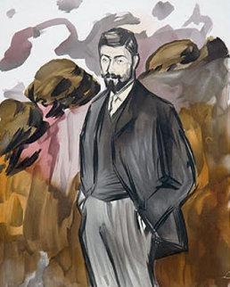 Portrait D'un Homme Debout Avec Barbiche Limited Edition Print by  Picasso Estate Signed Editions