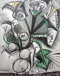 Le Bouquet Limited Edition Print by  Picasso Estate Signed Editions
