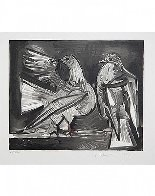 Deux Pigeons Limited Edition Print by  Picasso Estate Signed Editions - 1