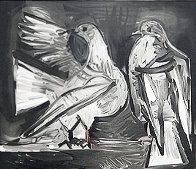 Deux Pigeons Limited Edition Print by  Picasso Estate Signed Editions - 0