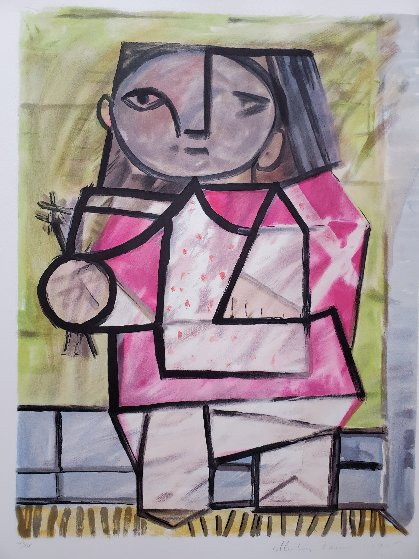 Enfant a Pied Limited Edition Print by  Picasso Estate Signed Editions