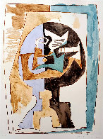 Guéridon Et Guitare Limited Edition Print by  Picasso Estate Signed Editions - 0