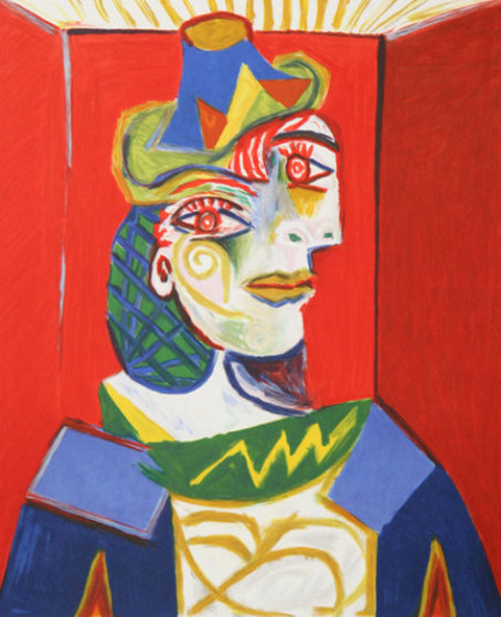 Buste De Femme   1979 Limited Edition Print by  Picasso Estate Signed Editions
