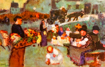 Flower Seller PP Limited Edition Print -  Picasso Estate Signed Editions