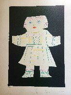 Une Poupee Decoupee 1979 Limited Edition Print by  Picasso Estate Signed Editions - 1