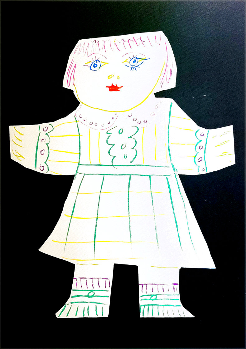 Une Poupee Decoupee 1979 Limited Edition Print by  Picasso Estate Signed Editions
