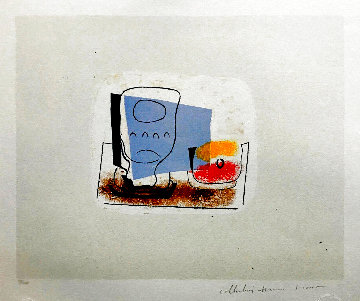 Nature Morte Au Verre Limited Edition Print -  Picasso Estate Signed Editions