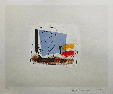 Nature Morte Au Verre Limited Edition Print -  Picasso Estate Signed Editions