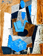 Femme Assise 1982 Limited Edition Print by  Picasso Estate Signed Editions - 0