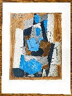 Femme Assise 1982 Limited Edition Print by  Picasso Estate Signed Editions - 1