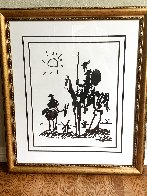 Don Quixote 1955 Limited Edition Print by  Picasso Estate Signed Editions - 1