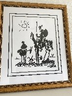 Don Quixote 1955 Limited Edition Print by  Picasso Estate Signed Editions - 2