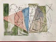Joueur De Flute Et Gazelle 1979 Limited Edition Print by  Picasso Estate Signed Editions - 1