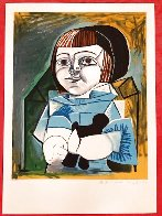 Paloma En Bleu 1979 Limited Edition Print by  Picasso Estate Signed Editions - 1