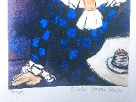Harlequin Leaning on His Elbow Limited Edition Print by  Picasso Estate Signed Editions - 5