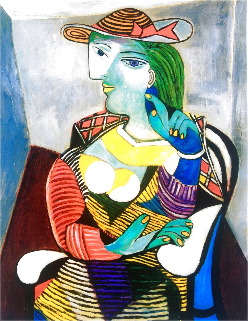 Marie Therese Limited Edition Print by  Picasso Estate Signed Editions