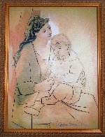 Mother And Child  Limited Edition Print by  Picasso Estate Signed Editions - 1