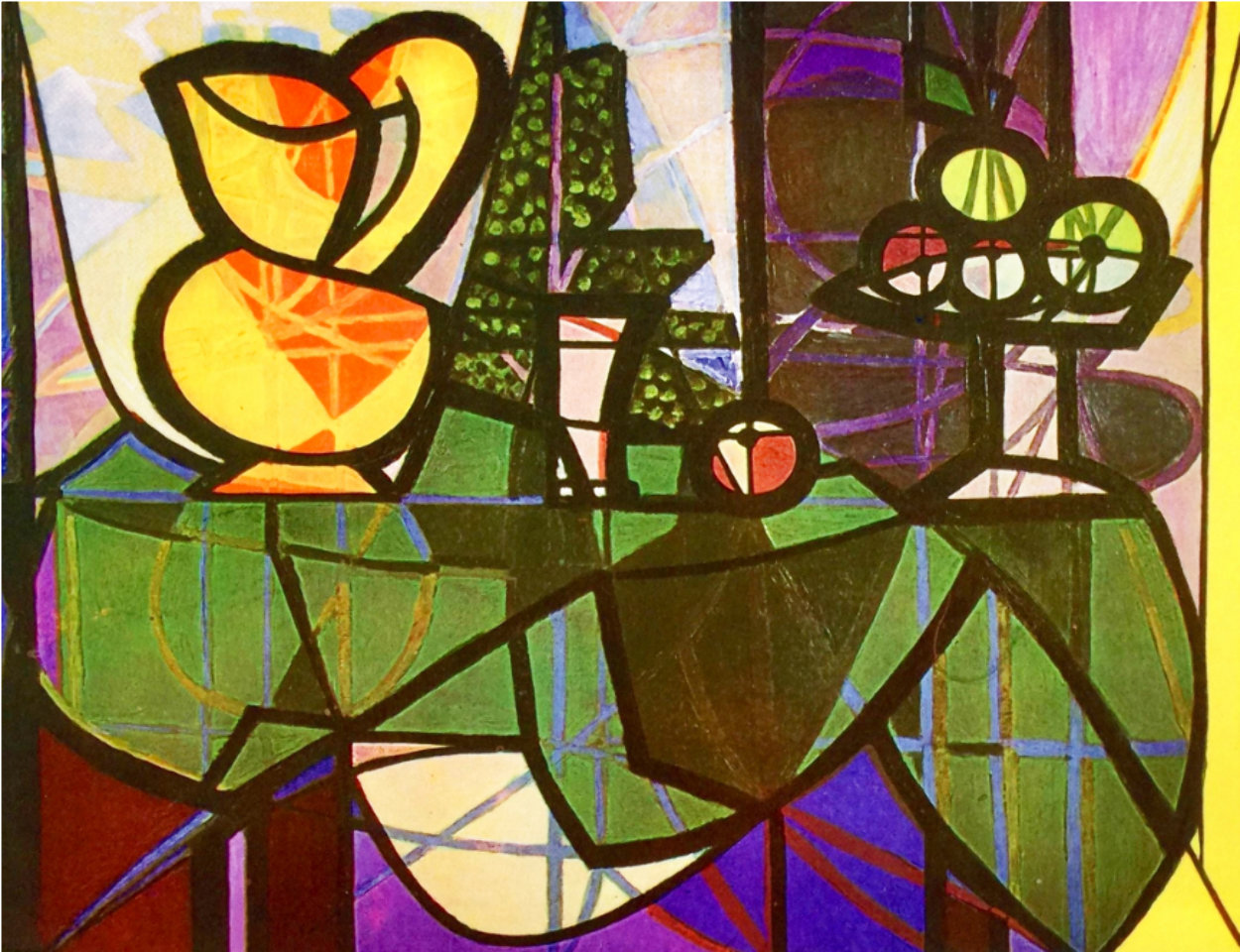 Pitcher And Bowl of Fruit Limited Edition Print by  Picasso Estate Signed Editions