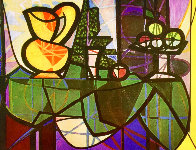 Pitcher And Bowl of Fruit Limited Edition Print by  Picasso Estate Signed Editions - 0