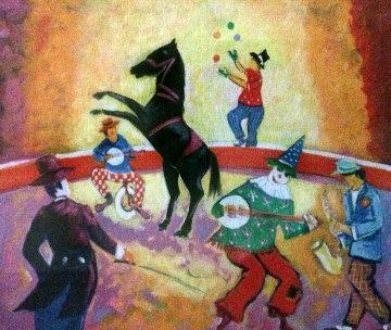 Le Cheval De Cirque 2004 Limited Edition Print by Jean Claude Picot