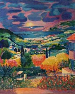 La Maison Des Vacances 1998 Limited Edition Print - Jean Claude Picot