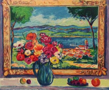 Les Fleurs De St. Tropez 1997 Limited Edition Print - Jean Claude Picot