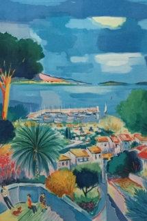 Sur L\'escalier, Theole 1990 Limited Edition Print - Jean Claude Picot