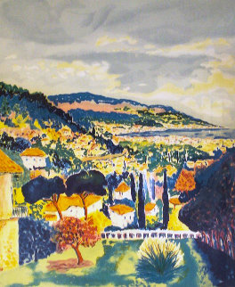 La Terrasse 1988 Limited Edition Print by Jean Claude Picot