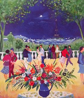 Une Soirée a Paris  2000 Limited Edition Print - Jean Claude Picot