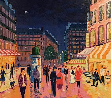 Soir De Paris Limited Edition Print by Jean Claude Picot