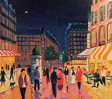 Soir De Paris Limited Edition Print by Jean Claude Picot