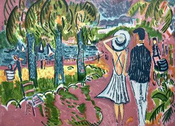 La Couple Limited Edition Print - Jean Claude Picot