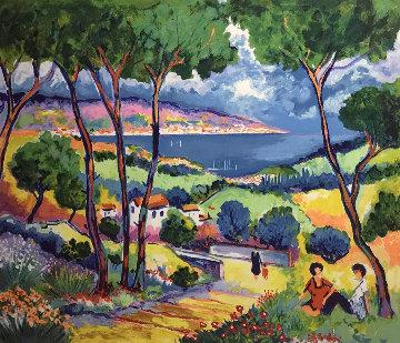 Le Chemin Du Village 1997 Limited Edition Print - Jean Claude Picot