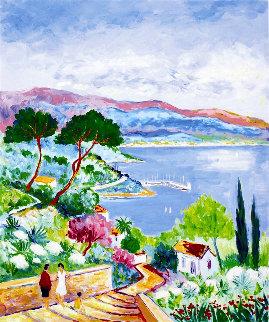 l'escalier Au Soleil 2004 Limited Edition Print - Jean Claude Picot