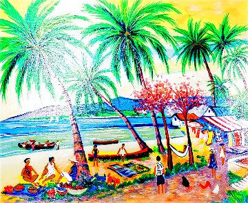 Matin Sur La Mer En Guadeloupe 2002 Limited Edition Print - Jean Claude Picot