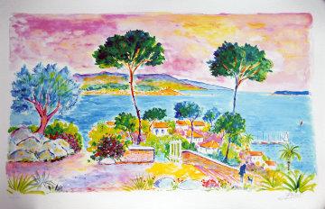 Ciel Rose a La Napoule 2004 Limited Edition Print - Jean Claude Picot
